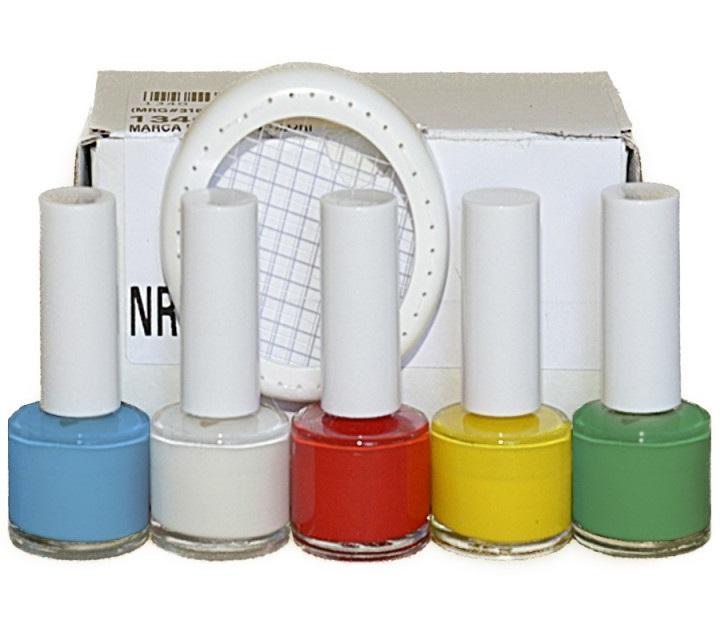 Vernice marcareggina a 5 colori