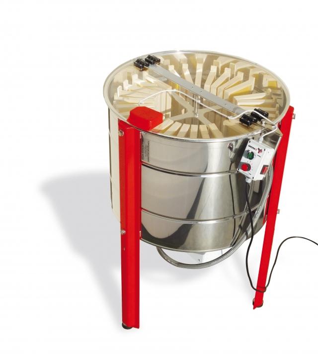 Smielatore radiale FLAMINGO motorizzato Gamma2, 28 favi Dadant - 12 favi Langstroth