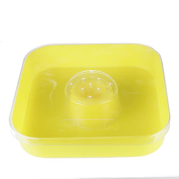 Nutritore in plastica quadrato 2 lt