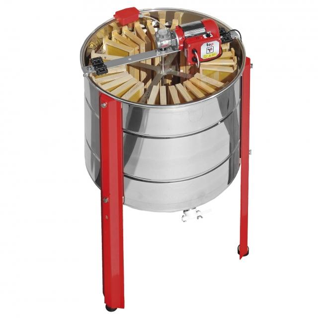 Smielatore radiale FLAMINGO motorizzato TOP - 28 favi Dadant, 12 favi Langstroth