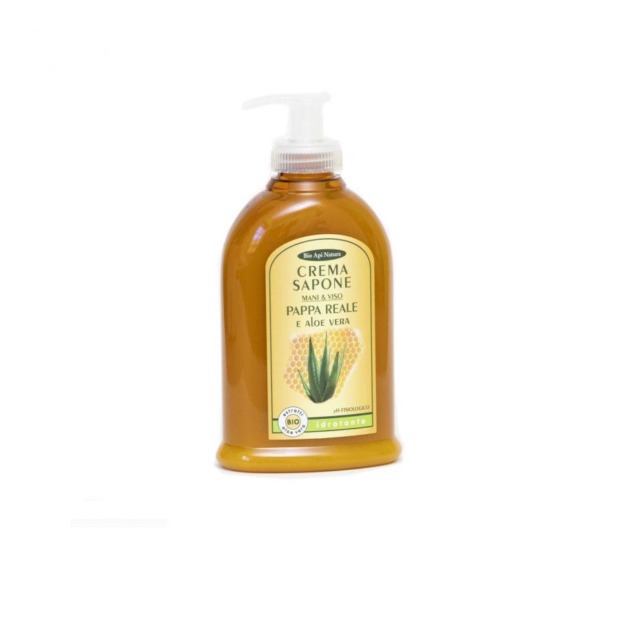 Sapone liquido Pappa reale e Aloe Vera - 300 ml