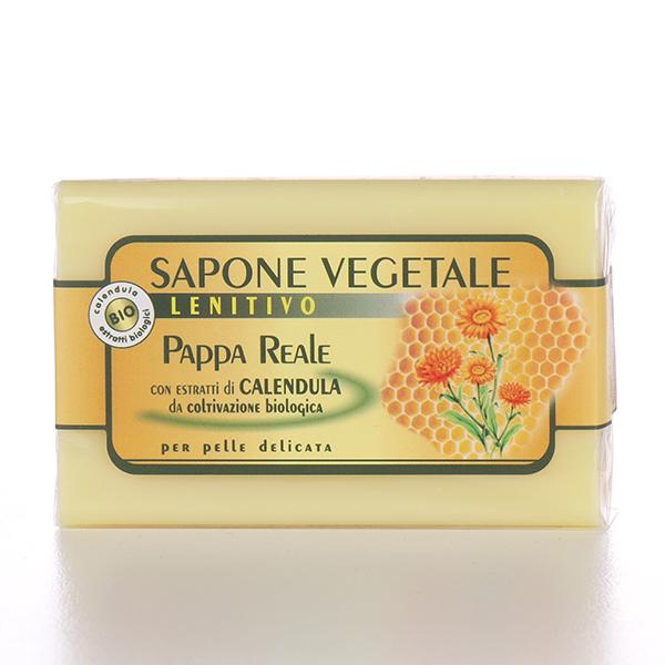 Sapone vegetale: sapone pappa reale e calendula