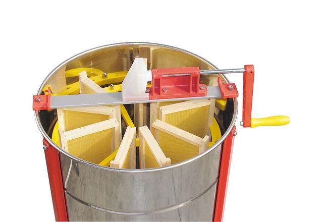 Smielatore radiale RADIALNOVE, 9 favi da melario Dadant, gabbia in plastica