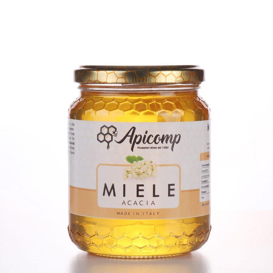 Miele di acacia in confezioni da 500g