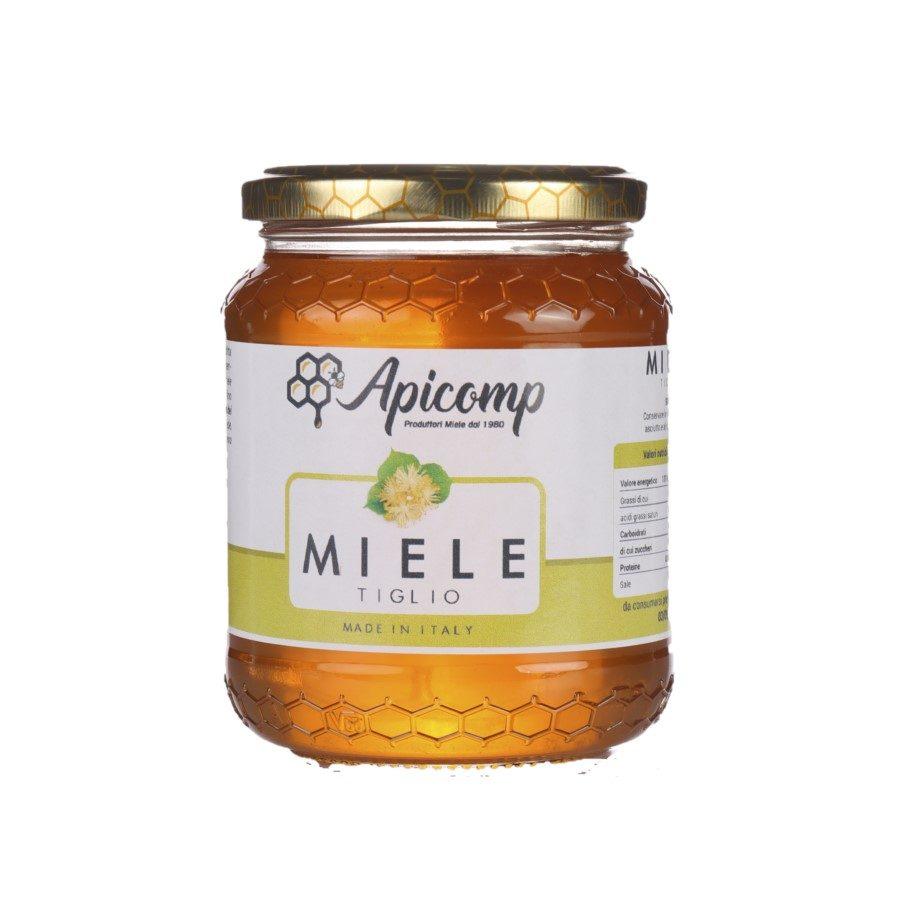 Miele di tiglio in barattolo da 500g