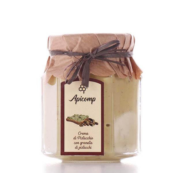 Crema di pistacchio con granella di pistacchio 110g