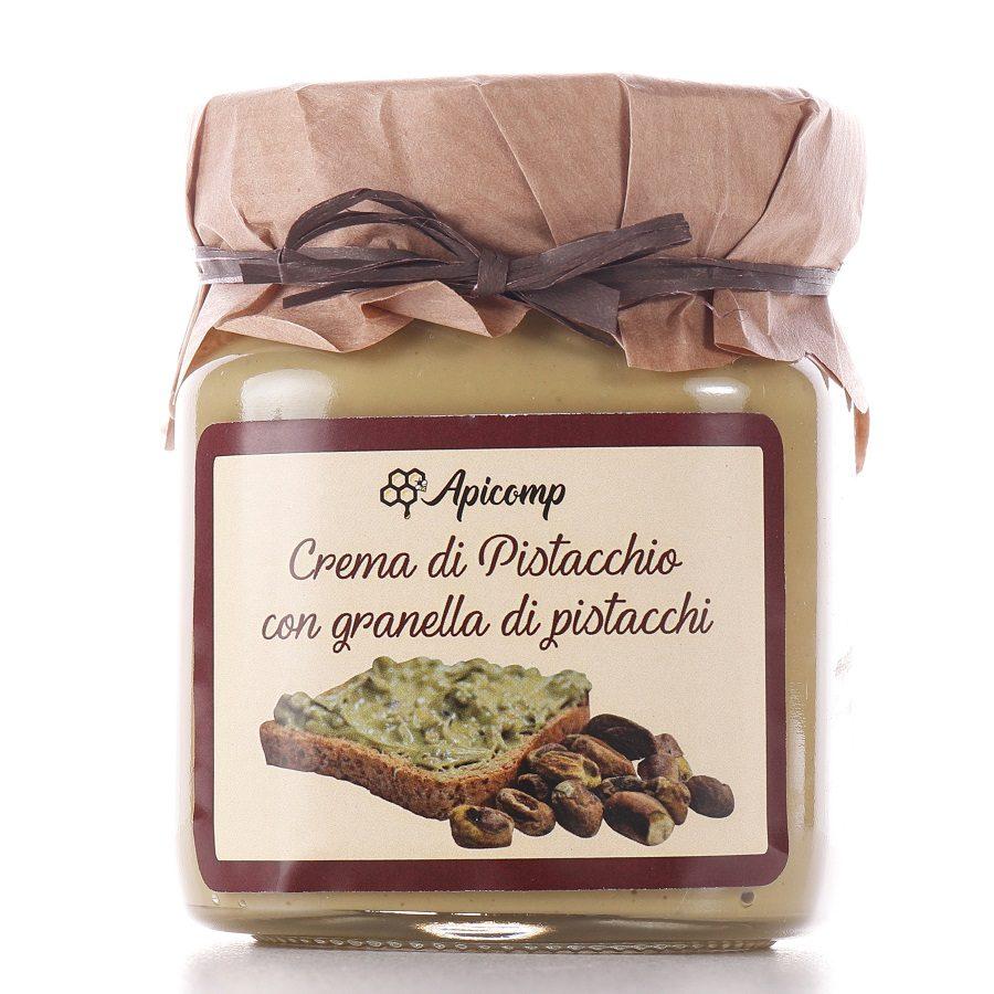 Crema di pistacchio con granella di pistacchio 330g